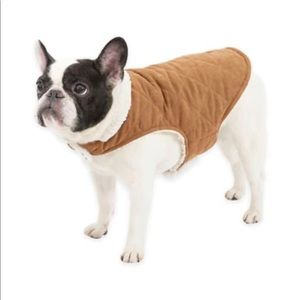 Ugg Dog Jacket - Tan faux suede & shearling sz M